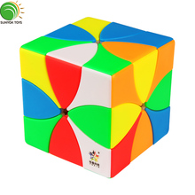 YuXin Acht Blütenblätter Cube Magnetische Magic Speed Cube Puzzle Kinder Spielzeug Educational