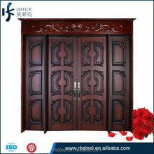 Ribang good front entry best wooden door manufacturers in china