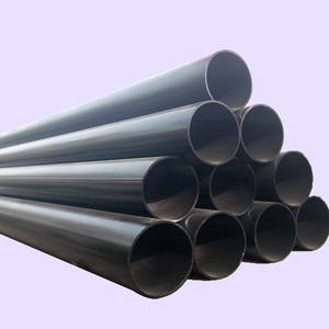 High quality erw carbon steel pipe din 2458 st37.2from china