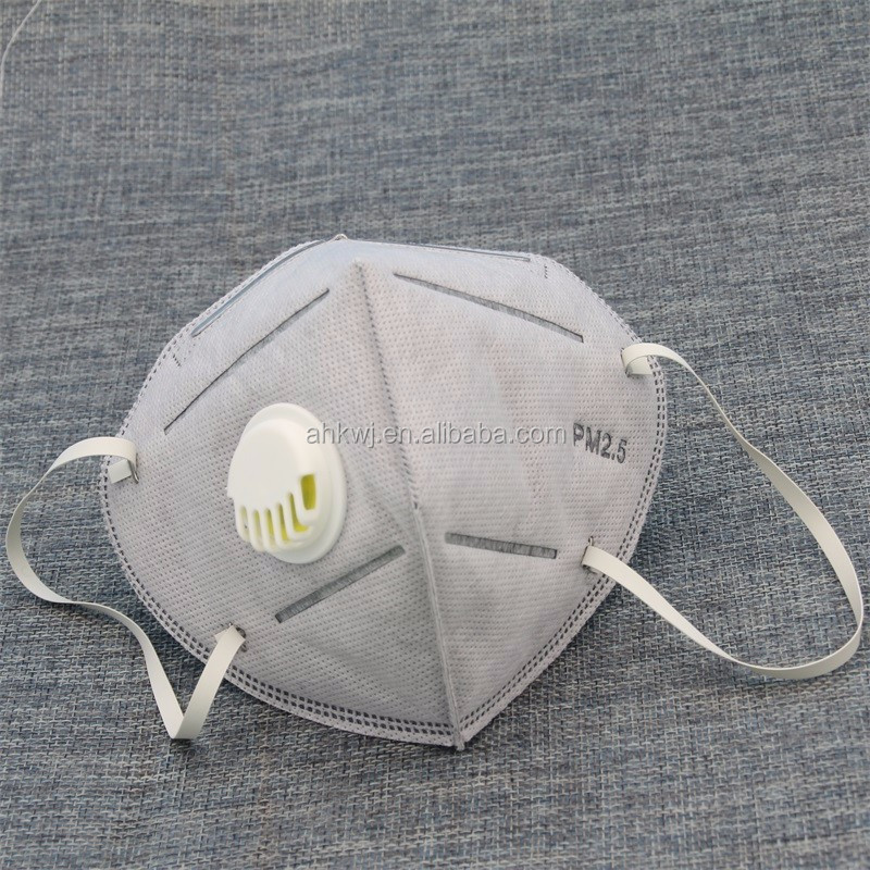 Disposable Japanese Style N95 Solid Fold Dust Face /Mouth Mask /PM2.5 Respirator manufacturer