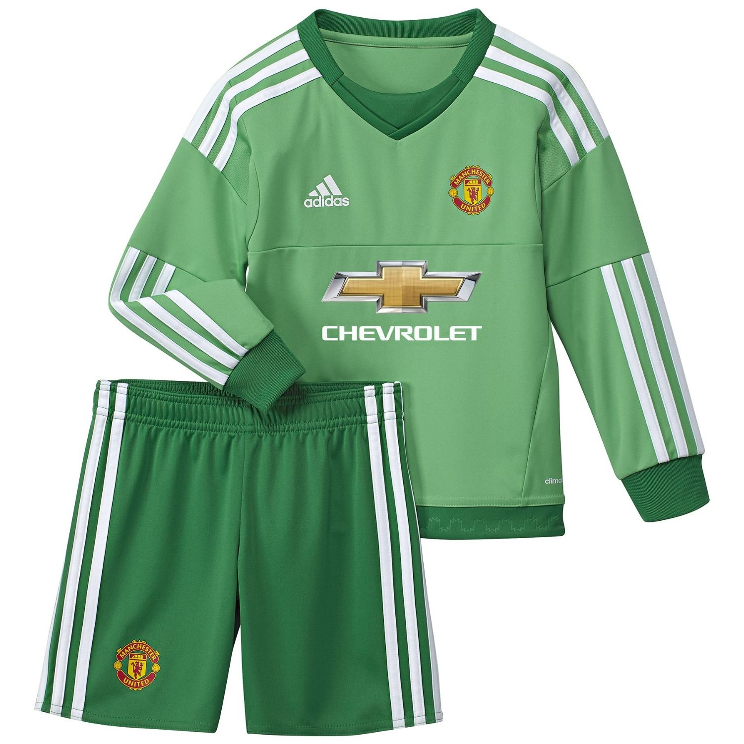 quality design 6d24d ae969 Buy Manchester United Kids Home Goalkeeper Kit 2015 – 2016 ...