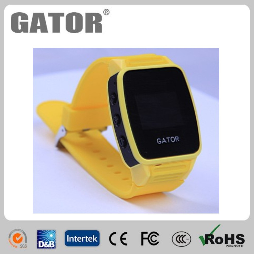 Waterproof IP67 Smallest size:32x40x12.5mm montre gsm gps with android/ios app tracking-Caref watch only for sole agent