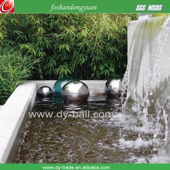 Large Garden Spheres U0026 Balls Fountain