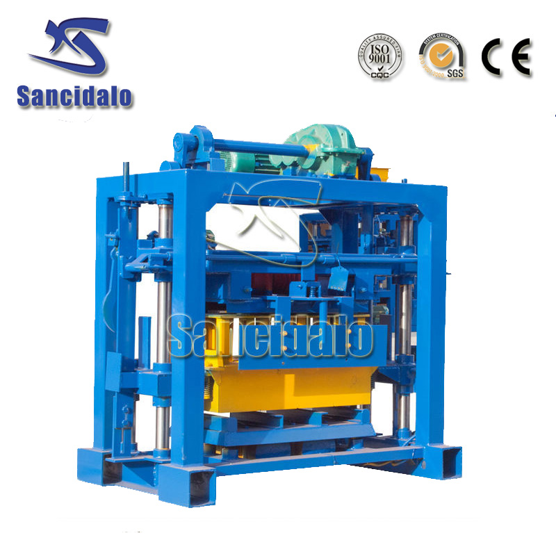 Low cost QT40-2 hight quailty brick making machine for sale