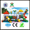 High Quality plastic slide easy play funny games kids playground design fiberglass slide for sale QX-11021B