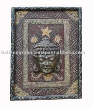 Budha Head on Frame carving