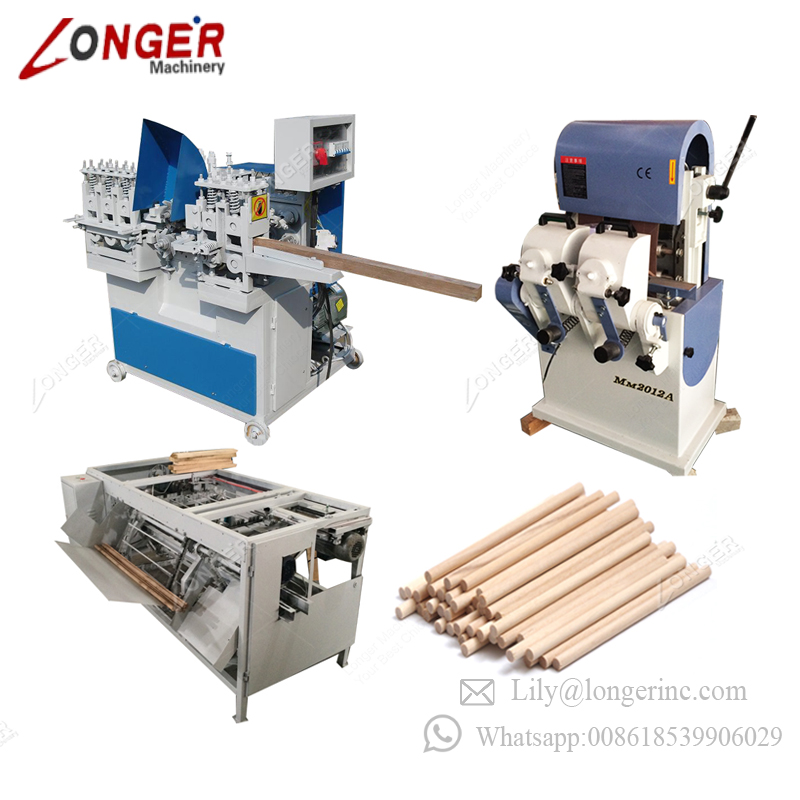 New Automatic Mob Wood Mop Rod Bar Rounding Processing Round Brush Hammer  Shovel Broom Handle Maker Wooden Stick Making Machine - Buy New Automatic
