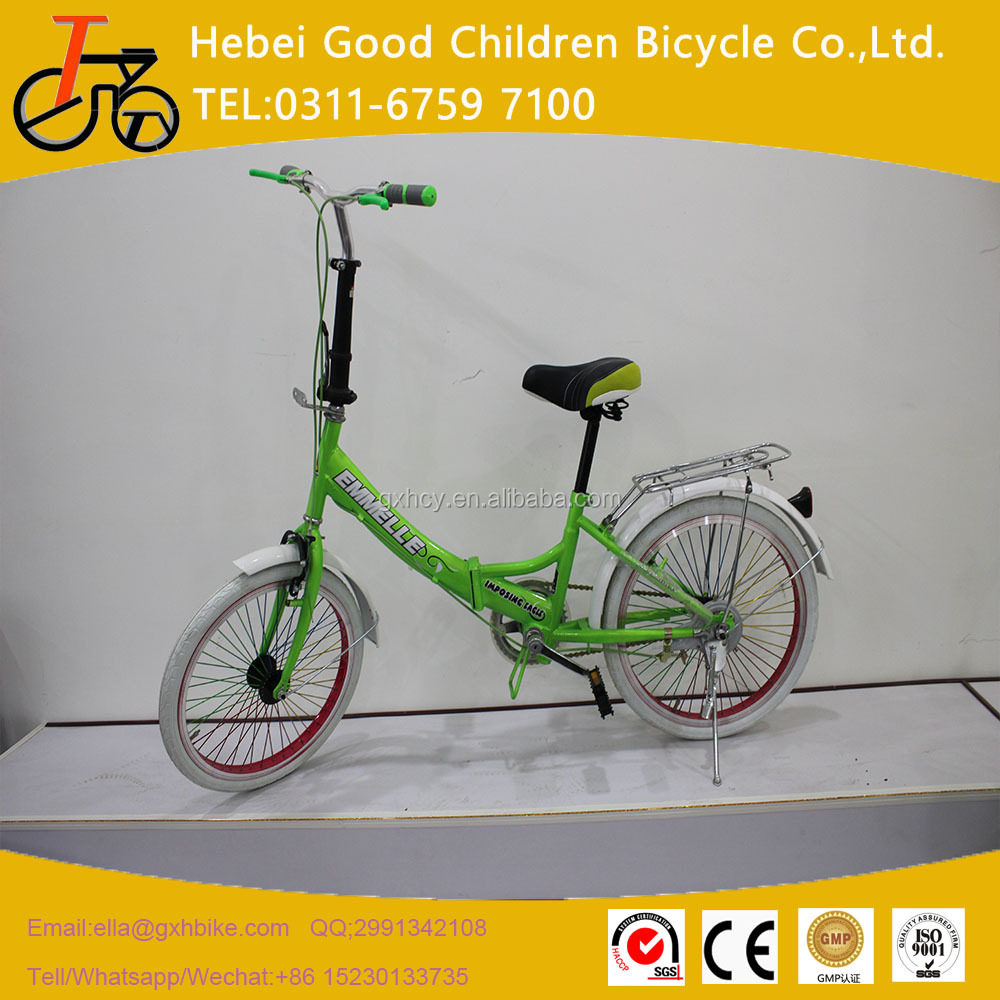 adult bicycle 6 speeds folding city bike 20 inch two wheel bicycle hot sale