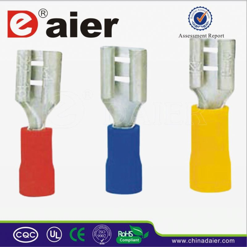 Daier cold pressed insulated furcated terminals