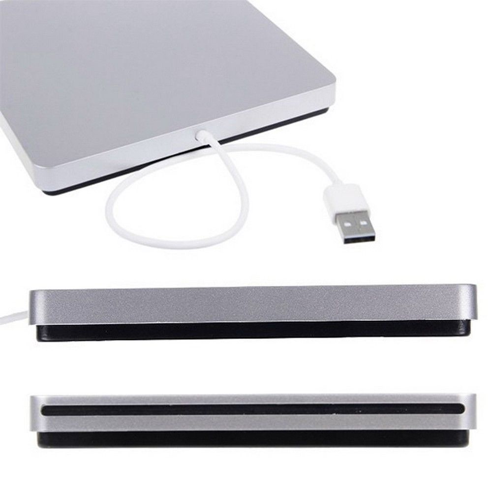 Splinktech Slim Slot-in USB External DVD/RW Drive Enclosure Caddy for MACBOOK PRO