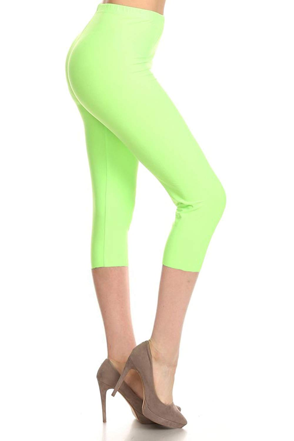 Athletic Yoga Leggings from DiaNoche Designs by Marley Ungaro Bloodhound Aqua