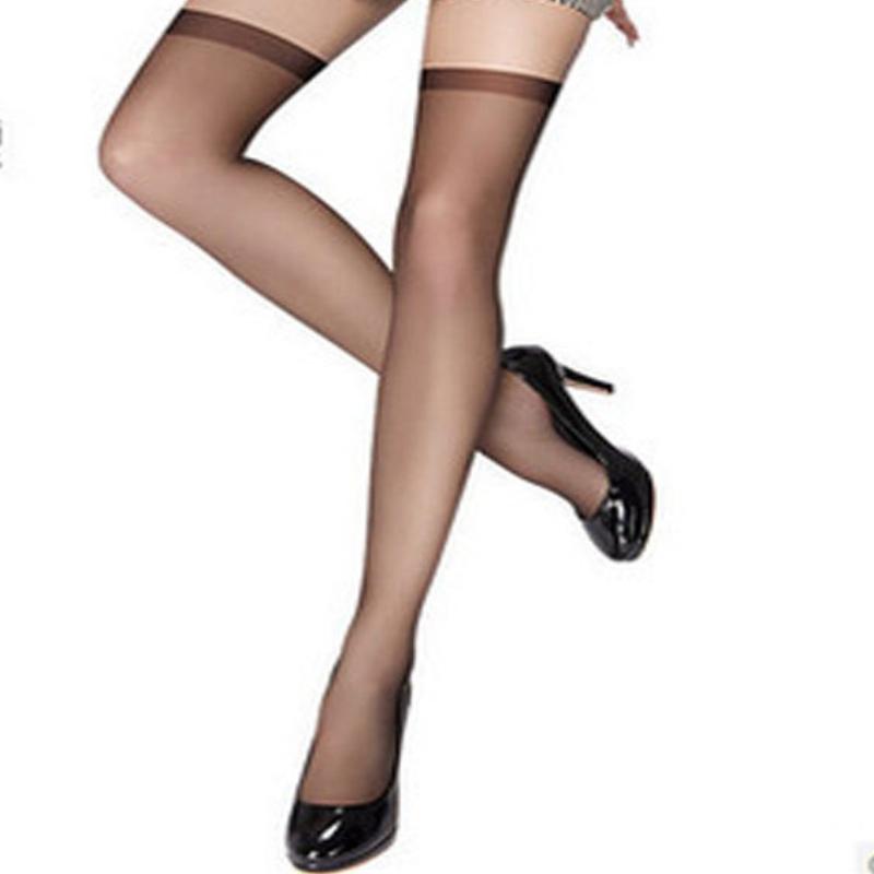 1f05c9cdcdb New Style Ultrathin Sexy Women Tights Stockings Black Thigh High Ultra  Sheer Knee High Stockings Tights