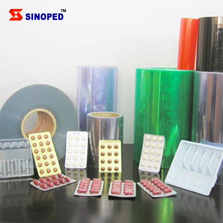 Pharma Grade PVC/PVDC/PE Film /Blister Packing Film