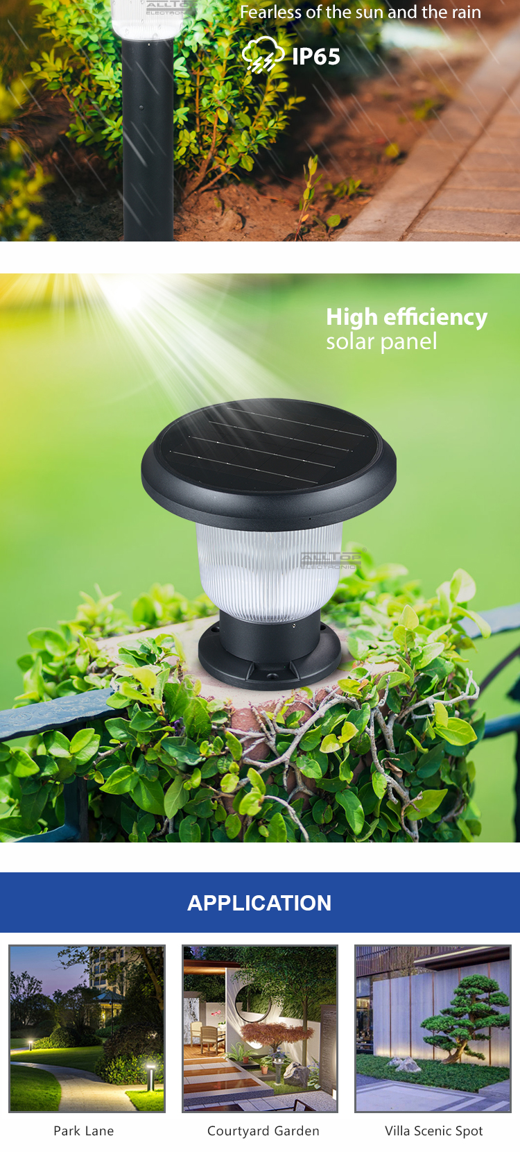 ALLTOP best solar path lights-15