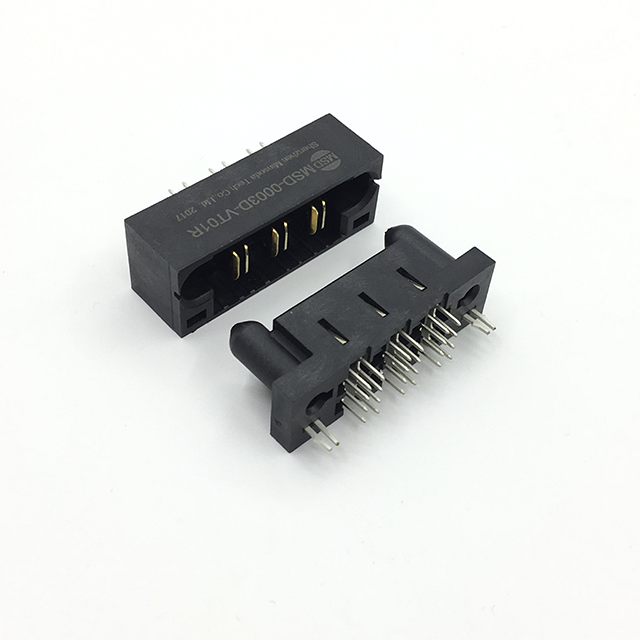 Tyco 3 Pin MULTI-BEAM XL Rechthoekige Power Connectors, Blade connector