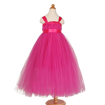 latest fancy kids princess pink dress children modern christmas designer one piece baby girl party dresses