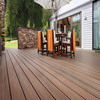 Wood plastic Composite tiles wpc decking high density