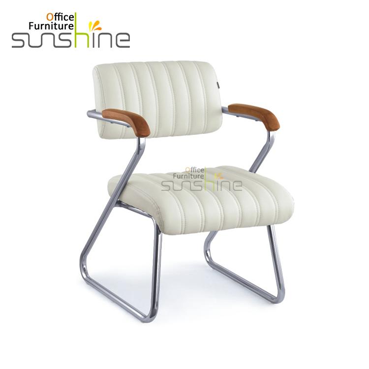 Venta al por mayor silla giratoria de cuero plata-Compre online los ...