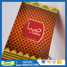 China supply packing essential oil gift box packaging