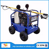 commercial use Gasoline engine Hot water high pressure washer