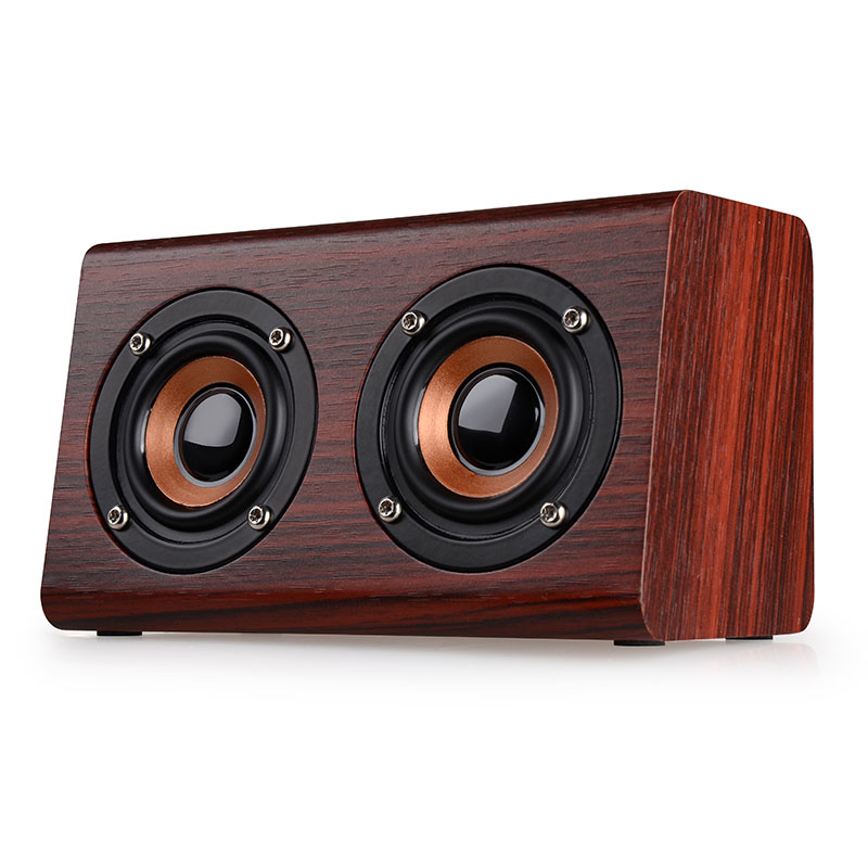 new products for 2018 wireless wooden induction amplifier speaker