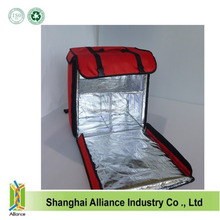 New style red 1680D Insulated Food Delivery Bags