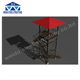 Prison guard tower angle steel tower truss tower