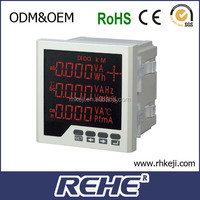 2014 newest three phase four lines DC 30 5A multifunction electrical energy instrument
