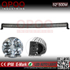 High power off road jeep 12v 52 inch 500w led light bar