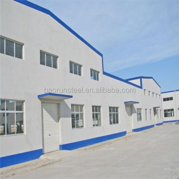 steel structure warehouse/rigid steel frame structure