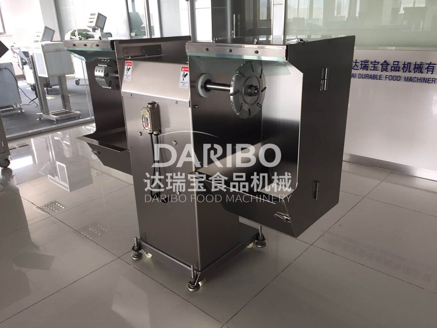 Commercial Tuna/Sailfish Peeling Machine,Frozen Meat&Fish Bone and Bloody Meat Grinding Cutting Machine