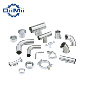 Weld/Tri Clamped SS304/SS316 Sanitary Stainless Steel Pipe Fittings