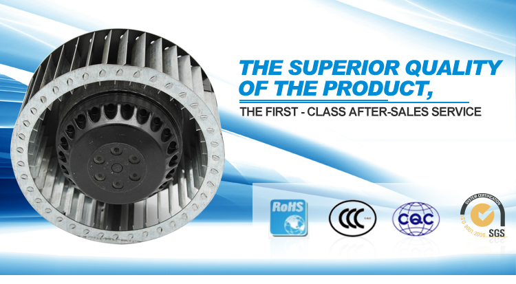 Cheap Price Forward Curved Brushless Centrifugal Fans