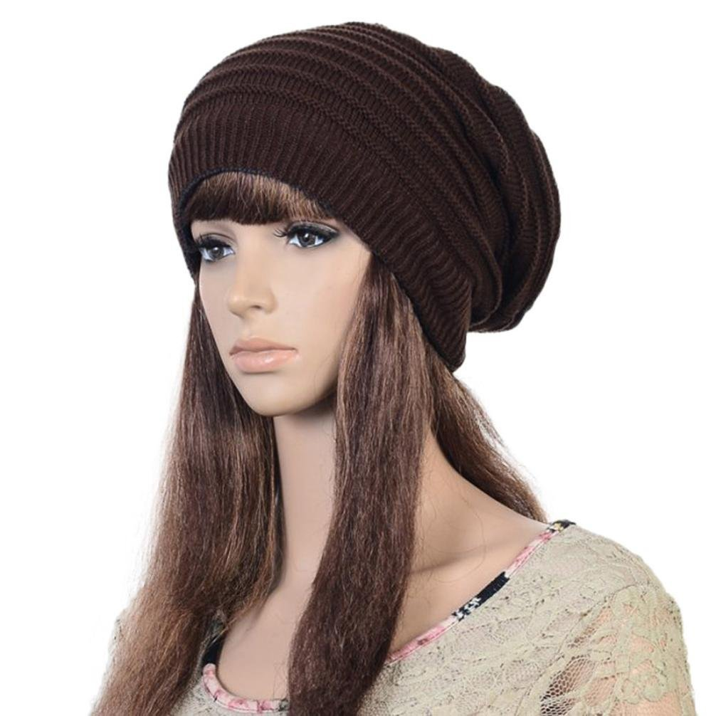 Get Quotations · Emubody Hats Women Knit Caps Chunky Cable Knit Slouchy  Beanie Warm Oversized Hats b72e7d5853dd
