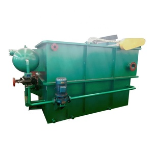 Dissolved air flotation machine For oily food industry waste water treatment