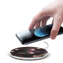 LED Light Up Wireless Charger Power Bank (Without Battery) With Gift Set