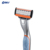 Mens Grooming Personalized Shaver Razor Stainless Steel 3 Blade Shaving Razor