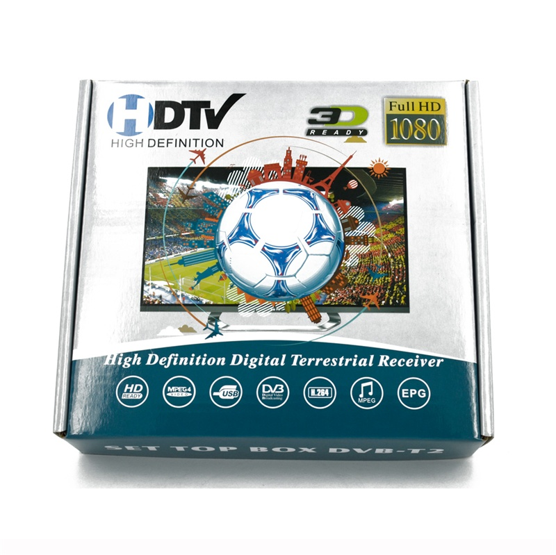 Home set top box dvb t2 digital TV receiver, free to watch 2014 world cup for Thailand