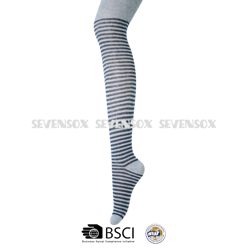 6e39cfbea Stripe Pattern Ladies And Girls Pantyhose Knitted Tights - Buy ...