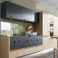 Design High End Integral Kitchen With MDF Pantry Cupboard