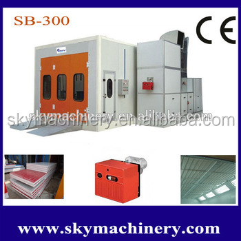 Portable Small Spraybooths Car Paint Booths with High Quality and Resonable Price