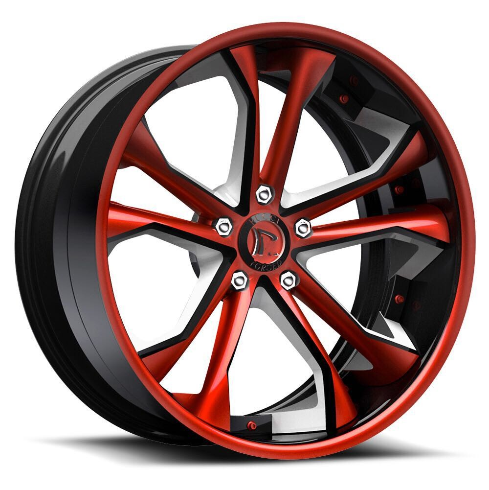 New Style High Quality Sliver Forged Alloy Wheel Rim For