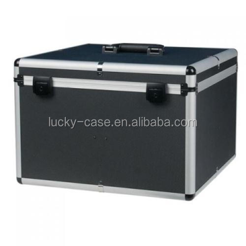 Disco DJ Flightcase 4 x Par 56 LED Uplighter Carry Case
