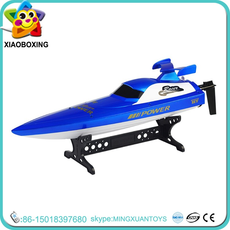2017 Best gift for kids RC radio control toys fishing RC bait boat hulls toys for children