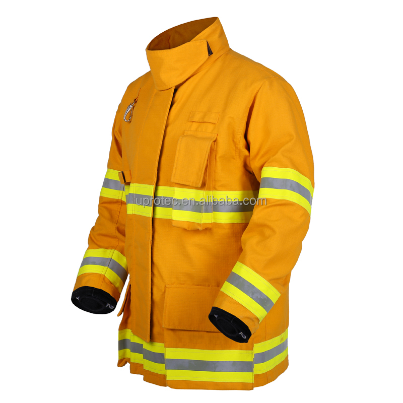 EN Standard Nomex Firefighting Suit ,CE Certified Firefighter Suit