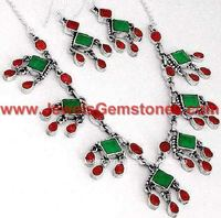 Jewellery Wholesale Silver Necklaces