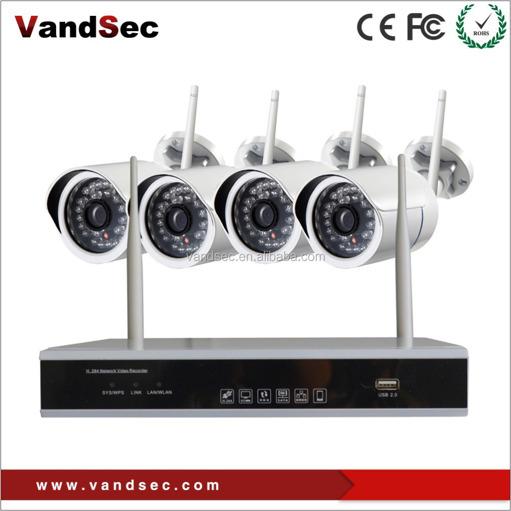 Best Choose onvif 4-CH Wifi NVR Kit with HD IP Camera Home Security  Systems, View Wifi NVR Kits, Vandsec Product Details from Shenzhen Vandsec