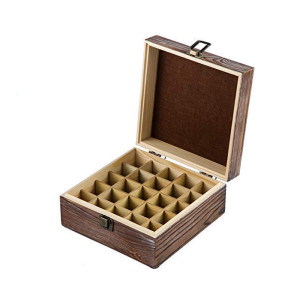 super deal retro aromatic conditioning wooden box essential oil display stand storage box