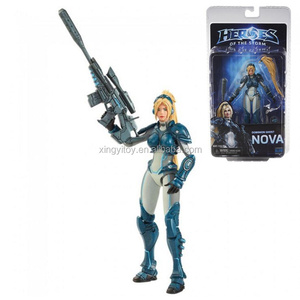 "NECA Heroes of the Storm Dominion Ghost Nova 7"" toy action figure"