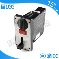 Electronic 6 value multi coin acceptor with timer control board for vending machine
